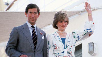 The Prince and Princess of Wales on honeymoon, 1981