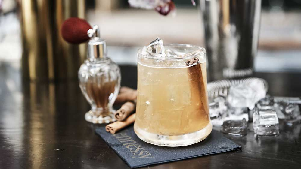 A side of delicious (Cognac cocktail)