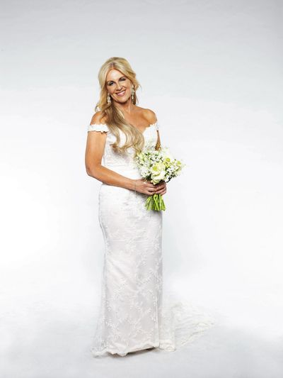 <em>Married at First Sight</em>'s Melissa in the winning dress