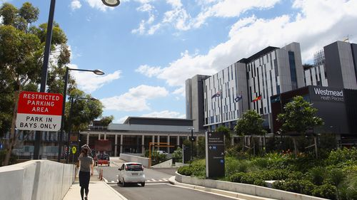 Westmead Hospital and Health Precinct is one of several Covid-19 vaccination hubs in Sydney.