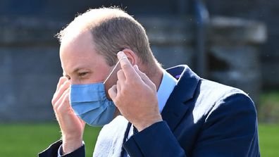 Prince William tested positive for COVID-19 in April.