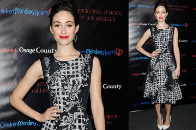 <i>The Day After Tomorrow</i> star Emmy Rossum.