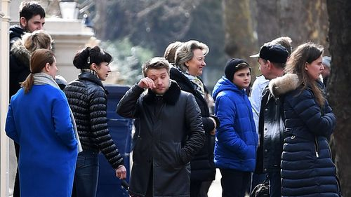 Russian authorities have denied all involvement in the nerve agent attack, saying Britain has more to answer for in regards to responsibility for the incident. Picture: AAP.