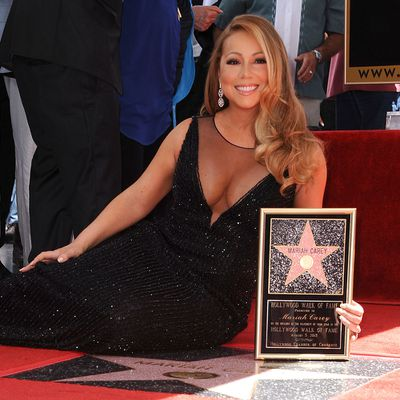 <p>The star: Mariah Carey</p>