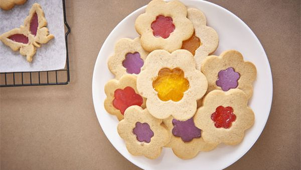 Katherine Sabbath's stained glass sugar cookies