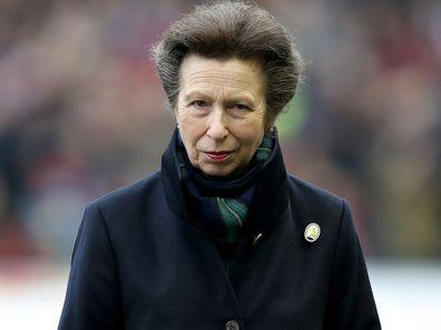 Princess Anne before the RBS 6 Nations match in Edinburgh