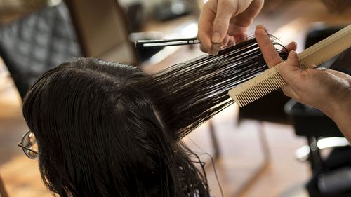 Hair salons will now be allowed to open in Victoria under certain circumstances.