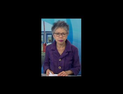 Purple is the new black according to Lee Lin Chin