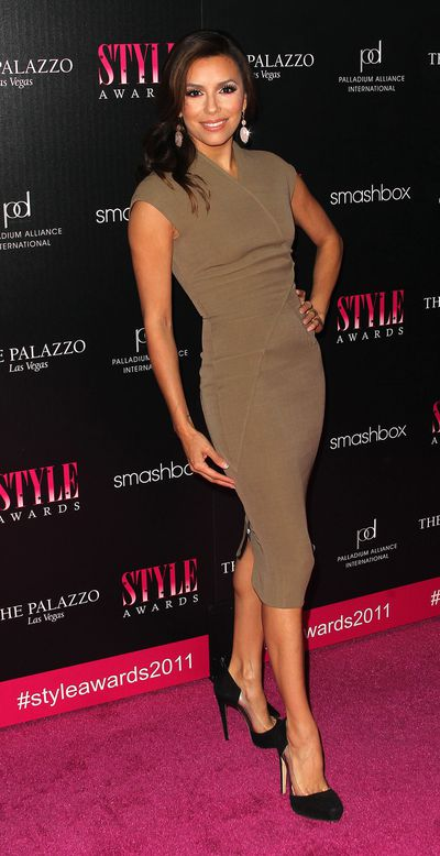 Actress Eva Longoria at the 2011 Hollywood Style Awards in West Hollywood, March, 2011