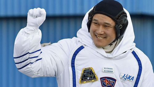 Japanese astronaut Norishige Kanai. (Photo: AP).