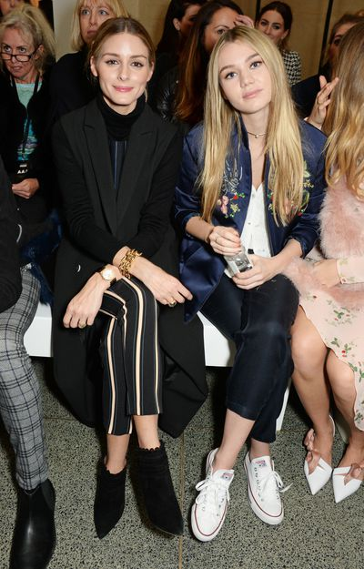 Olivia Palermo and Immy Waterhouse