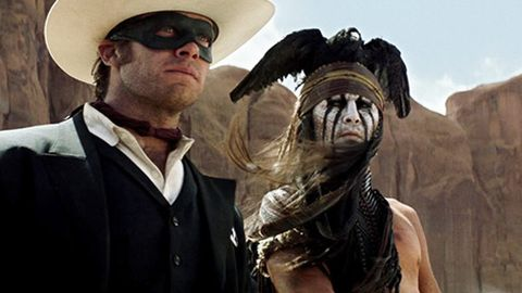 First look: Johnny Depp's epic Lone Ranger trailer