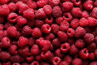 Raspberries: 4.5g sugar per 100g