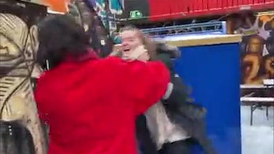 Ezra Miller appears to choke woman in video - Ezra Miller fired