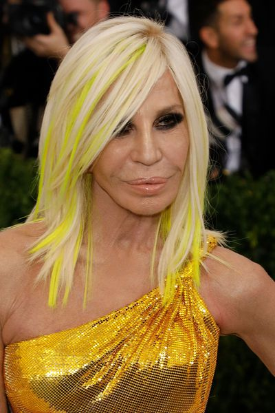 Initially there were rumours that Lady Gaga would play Donatella Versace, the designer's sister who took over creative control of the company.