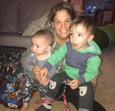 Heidi Krause and her gorgeous sons