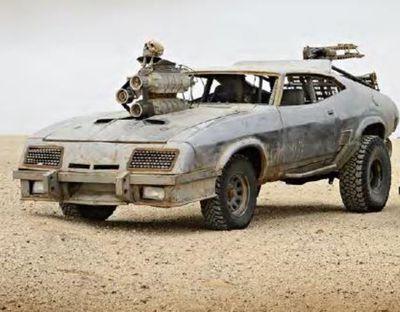 Razor Cola: 1973 XB Falcon Coupe (The Interceptor Reborn)