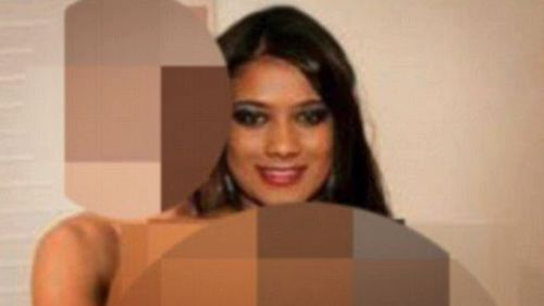 Ms Martin's face was photoshopped onto pornographic images and videos on the internet. Picture: 9NEWS