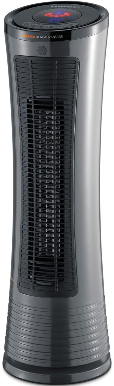 <strong>Kambrook KCE240GRY Electric Ceramic Tower Heater</strong>