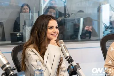 Selena Gomez, Ryan Seacrest, interview, studio