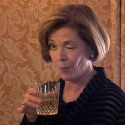 Jessica Walter as Lucille Bluth: Then