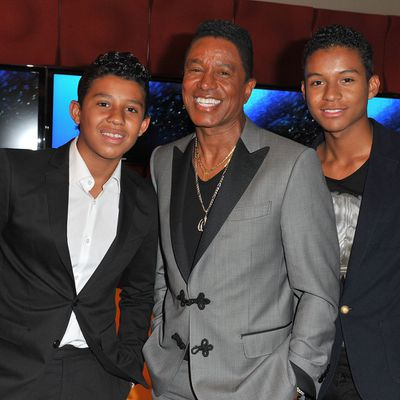 Jermaine Jackson's son Jermajesty