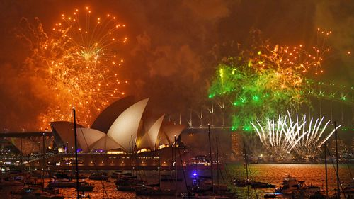 This year's $5.78 million firework show in Sydney includes more than 100,000 individual pyrotechnics, 8.5 tonnes of fireworks and 35,000 shooting comets.