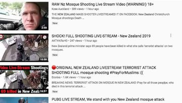 The Christchurch massacre video remained accessible on YouTube for hours afterwards.