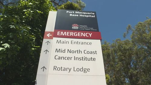 Port Macquarie Base Hospital.