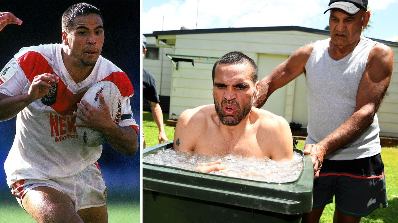 Tony Mundine recalls the moment son Anthony Mundine gave up NRL career