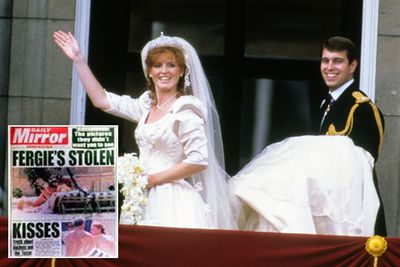 In 1992 a topless Sarah Ferguson was photographed getting her toes sucked by her American financial adviser … while she was still married to Prince Andrew.