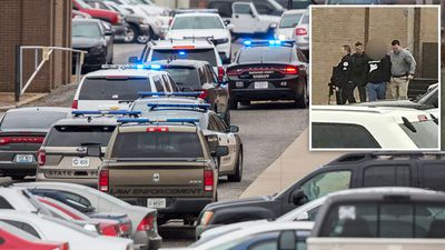Two dead after gunman opens fire in US high school