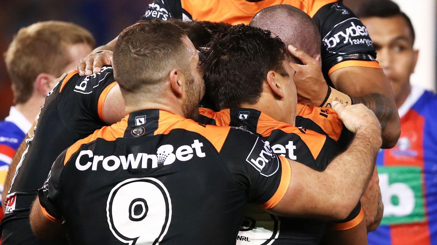 Tigers' NRL win heaps pressure on Warriors