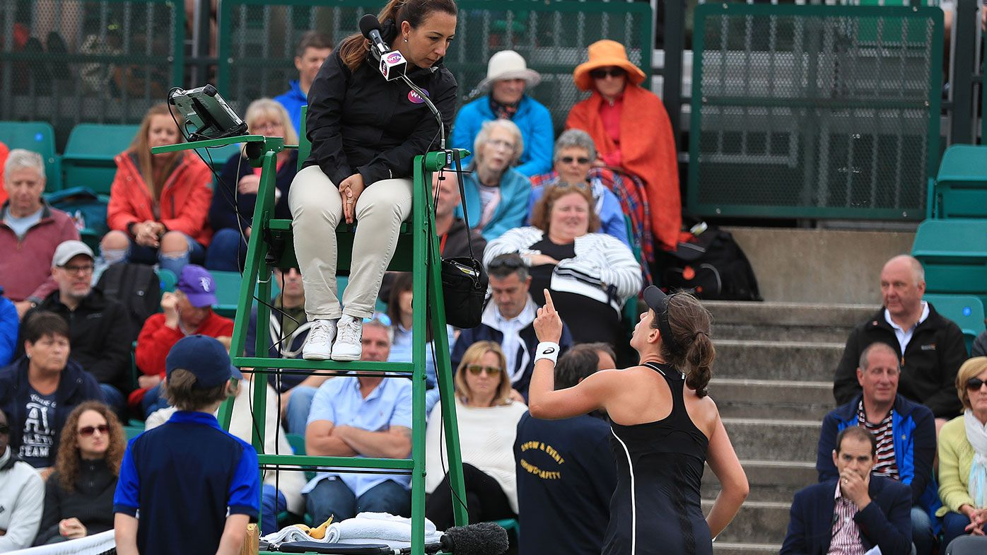 Ash Barty too strong in fiery Nottingham final
