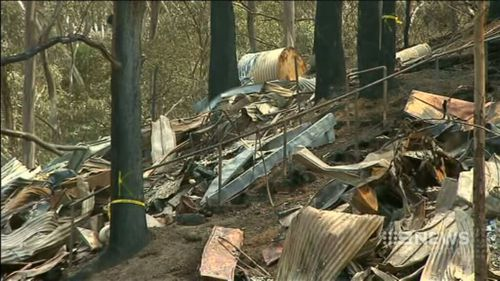 Residents returned today to find their homes damaged or even destroyed. (9NEWS)