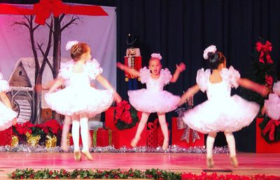 Princess Leonore dances in The Nutcracker, December 2018