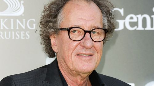 Actor Geoffrey Rush attends the premiere of National Geographic's 'Genius' at The Fox Bruin Theater on April 24, 2017 in Los Angeles, California
