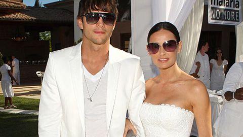 Demi Moore still pays Ashton Kutcher's tanning bill