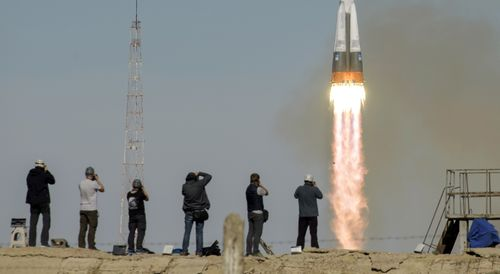 The launch was the first aborted in 35 years for the Russians.