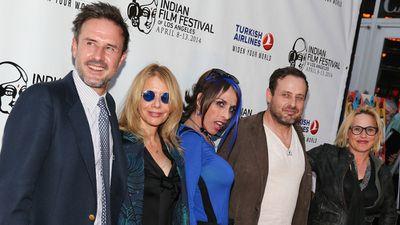 Patricia, David and Rosanna Arquette's sister Alexis Arquette