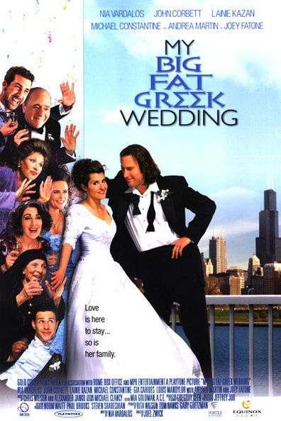 Michael Constantine stars in my Big Fat Greek Wedding.