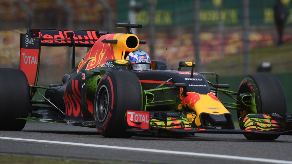 Ricciardo on front row for Chinese GP