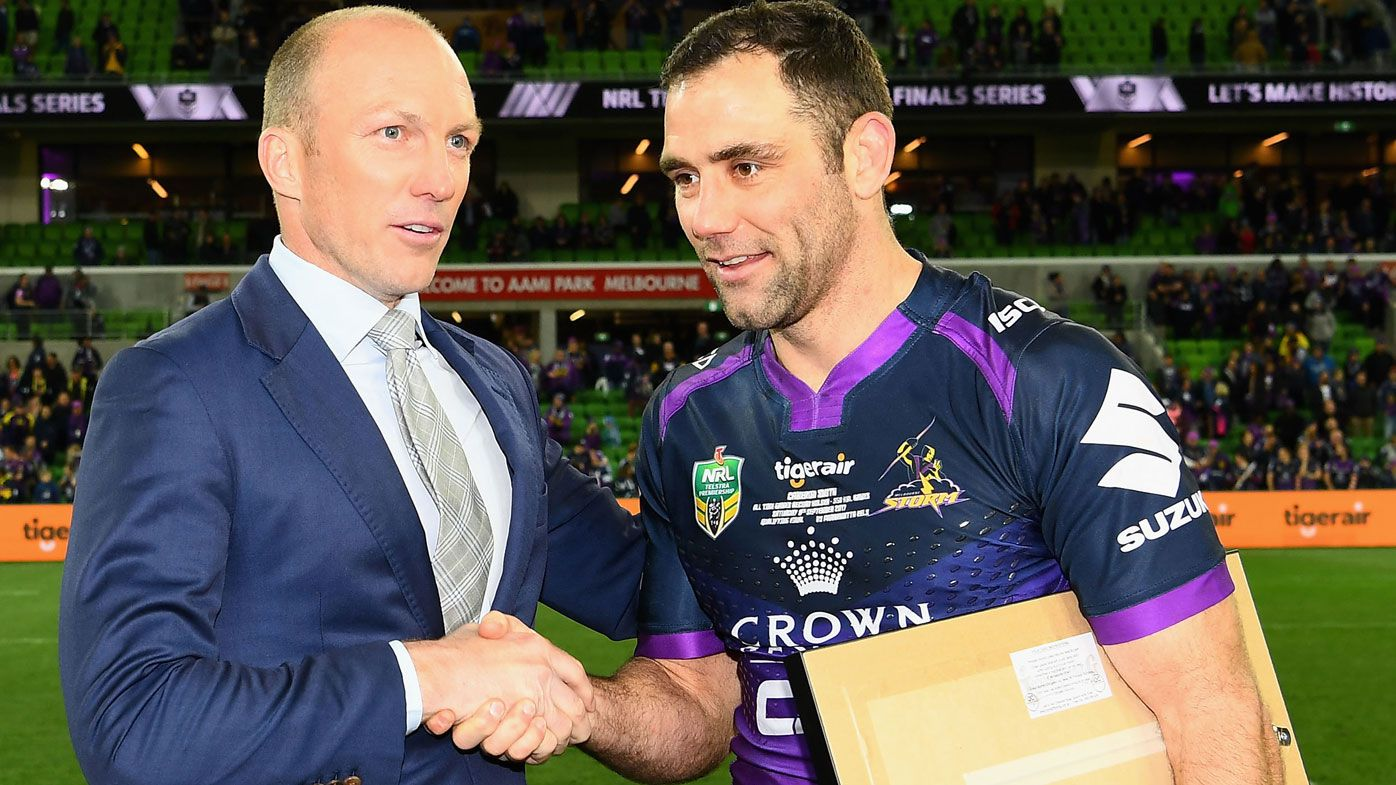 EXCLUSIVE: Darren Lockyer tips Cameron Smith to play-on with Storm, bucking trend