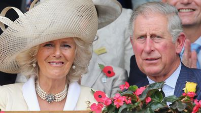 Prince Charles and Camilla at Melbourne Cup 2012.