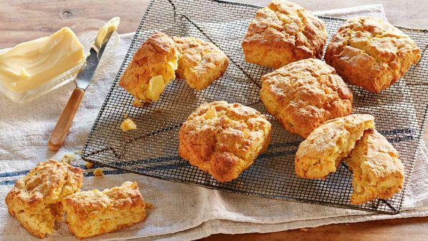 Curtis Stone's kabocha pumpkin scones