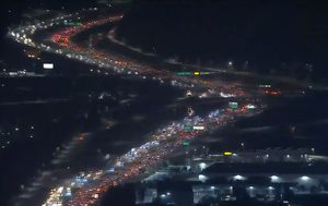 Massive Thanksgiving traffic jams spark COVID fears in US