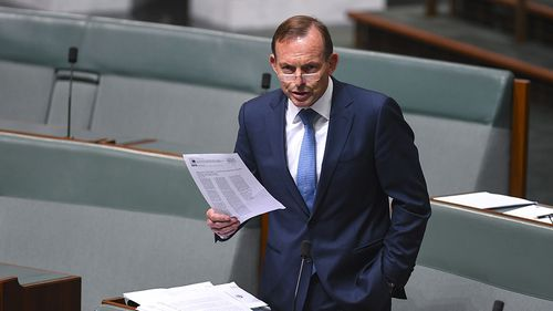 """Tony Abbot proposed changes to broaden religious protections """"out of respect"""" for people who """"take religious freedom seriously"""". (AAP)"""