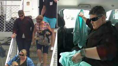 From Bali to Newcastle: Renae Lawrence arrives home