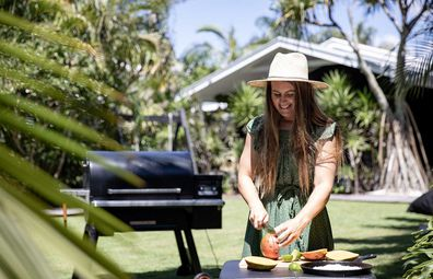 Chef and cookbook author Sarah Glover