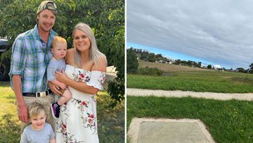 Jemma Baker and her family bought a block of land and were planning to build their dream home with the help of the HomeBuilder grant.